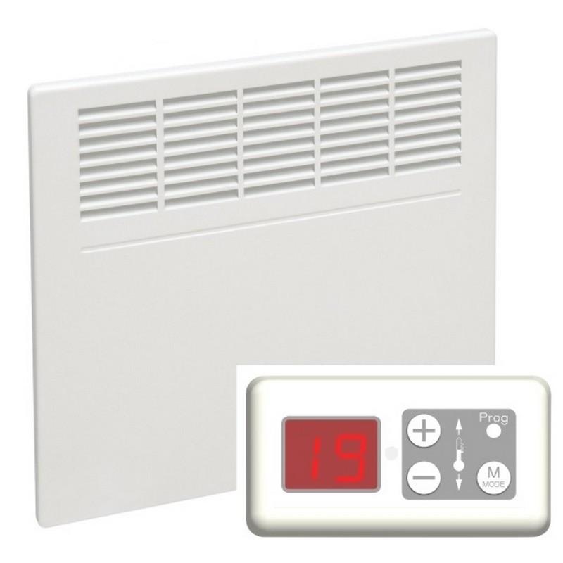 airelec paris digital wandkonvektor mit digitalem thermostat. Black Bedroom Furniture Sets. Home Design Ideas