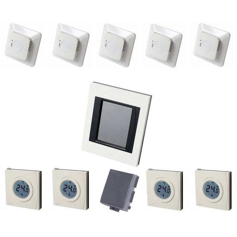 danfoss link kleines starter set f r elektro fu bodenheizung small ef. Black Bedroom Furniture Sets. Home Design Ideas