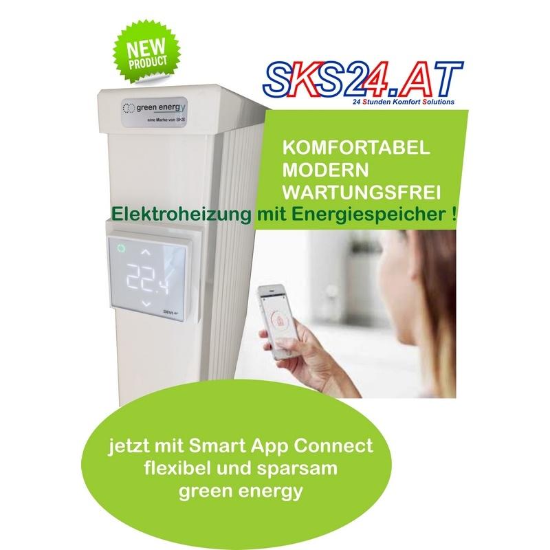 greenenergy heizk rper mit smart app connect steuern sie ihre heizung mit ihrem handy ber das. Black Bedroom Furniture Sets. Home Design Ideas