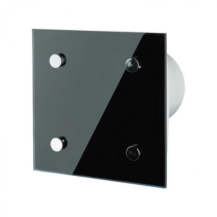 abluftventilator mit edler frontplatte und einstellbarer. Black Bedroom Furniture Sets. Home Design Ideas