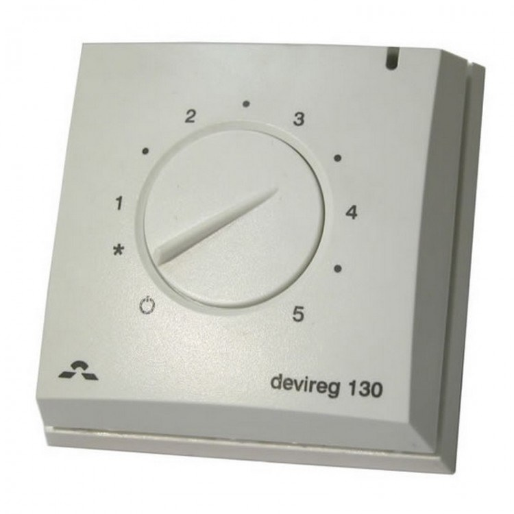 devireg 130 thermostat f r fu bodenheizung. Black Bedroom Furniture Sets. Home Design Ideas